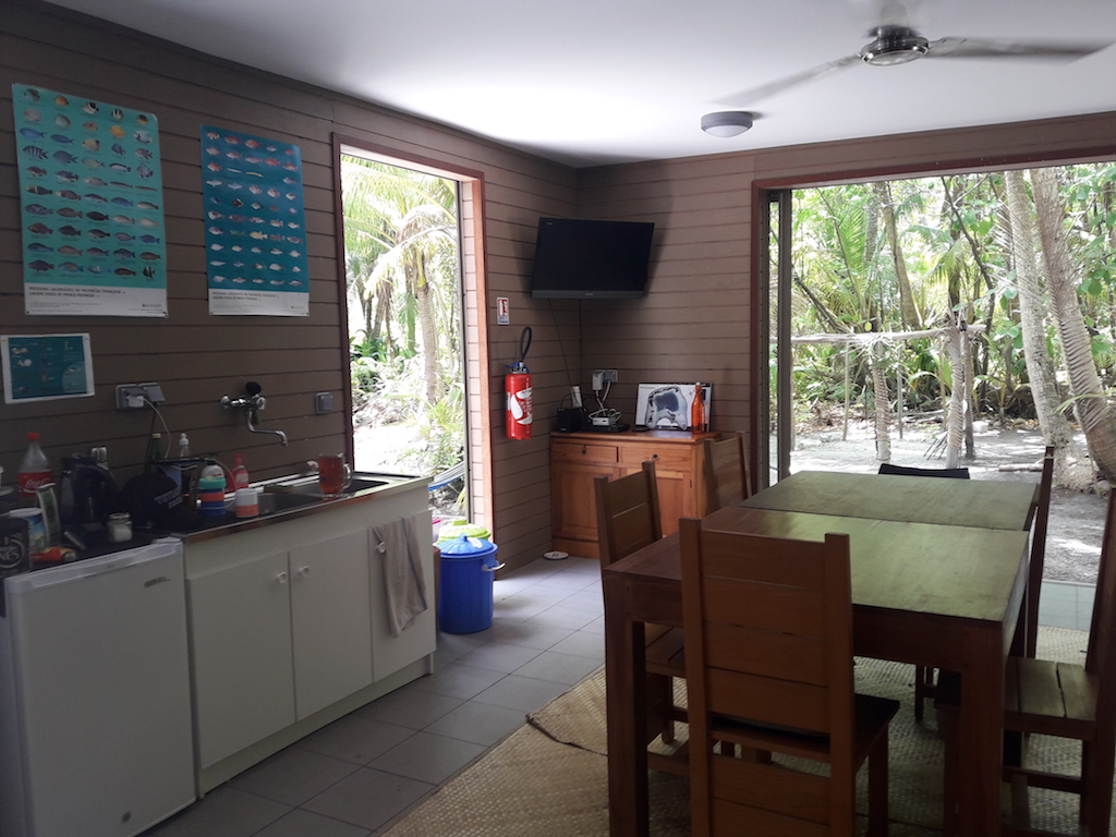 common area with kitchen