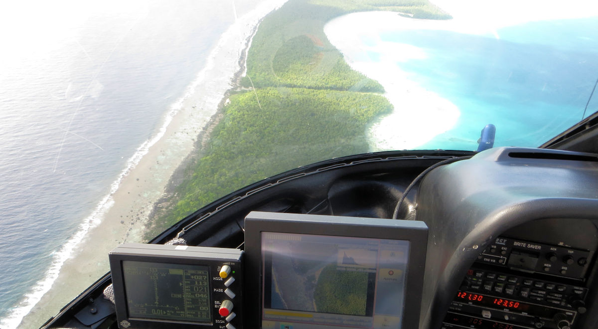Lidar survey of Tetiaroa
