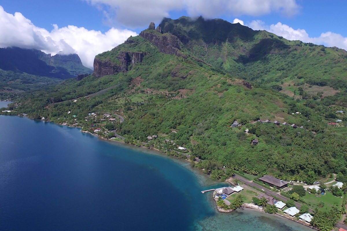 Gump station on Moorea