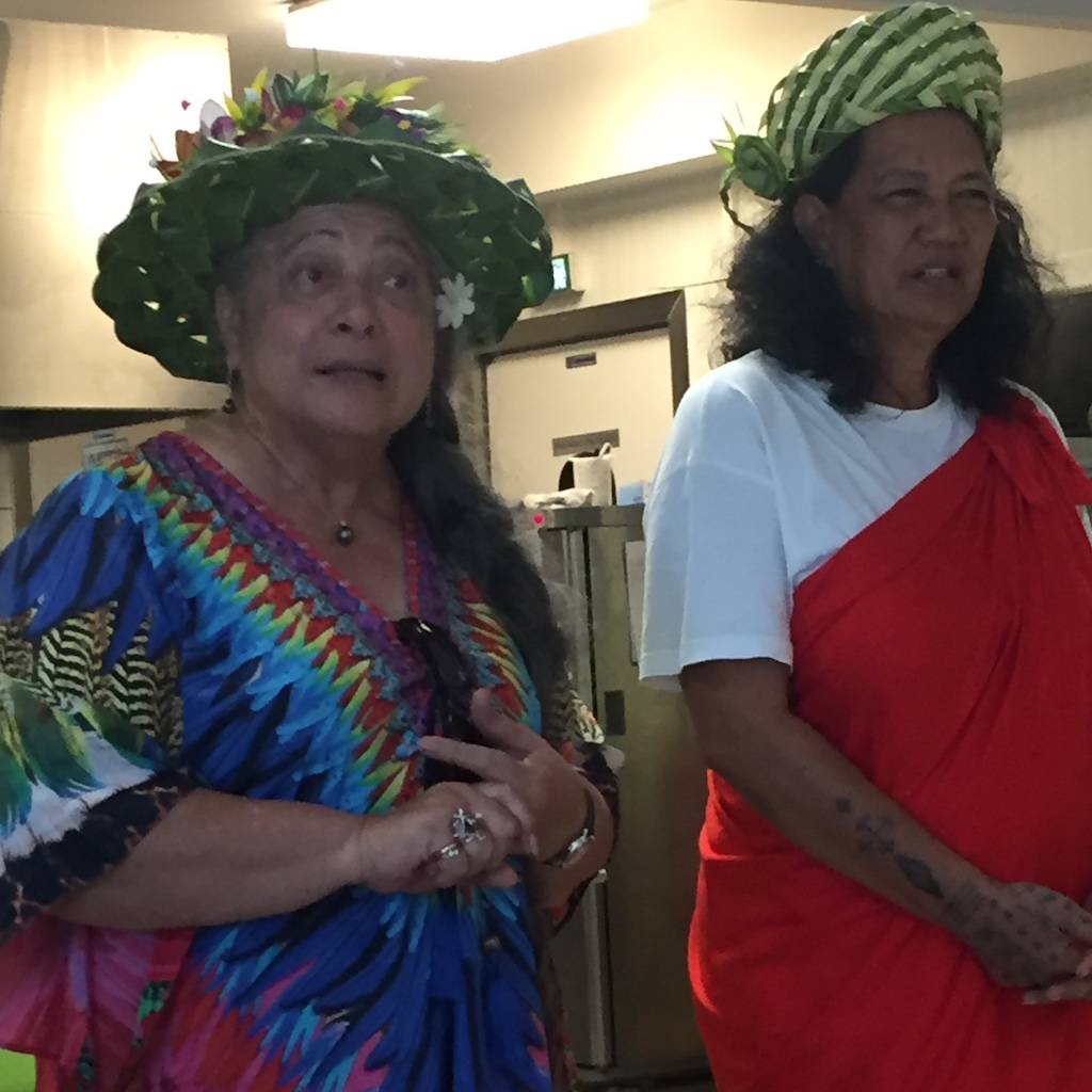 rep from Cook Islands and Hinano