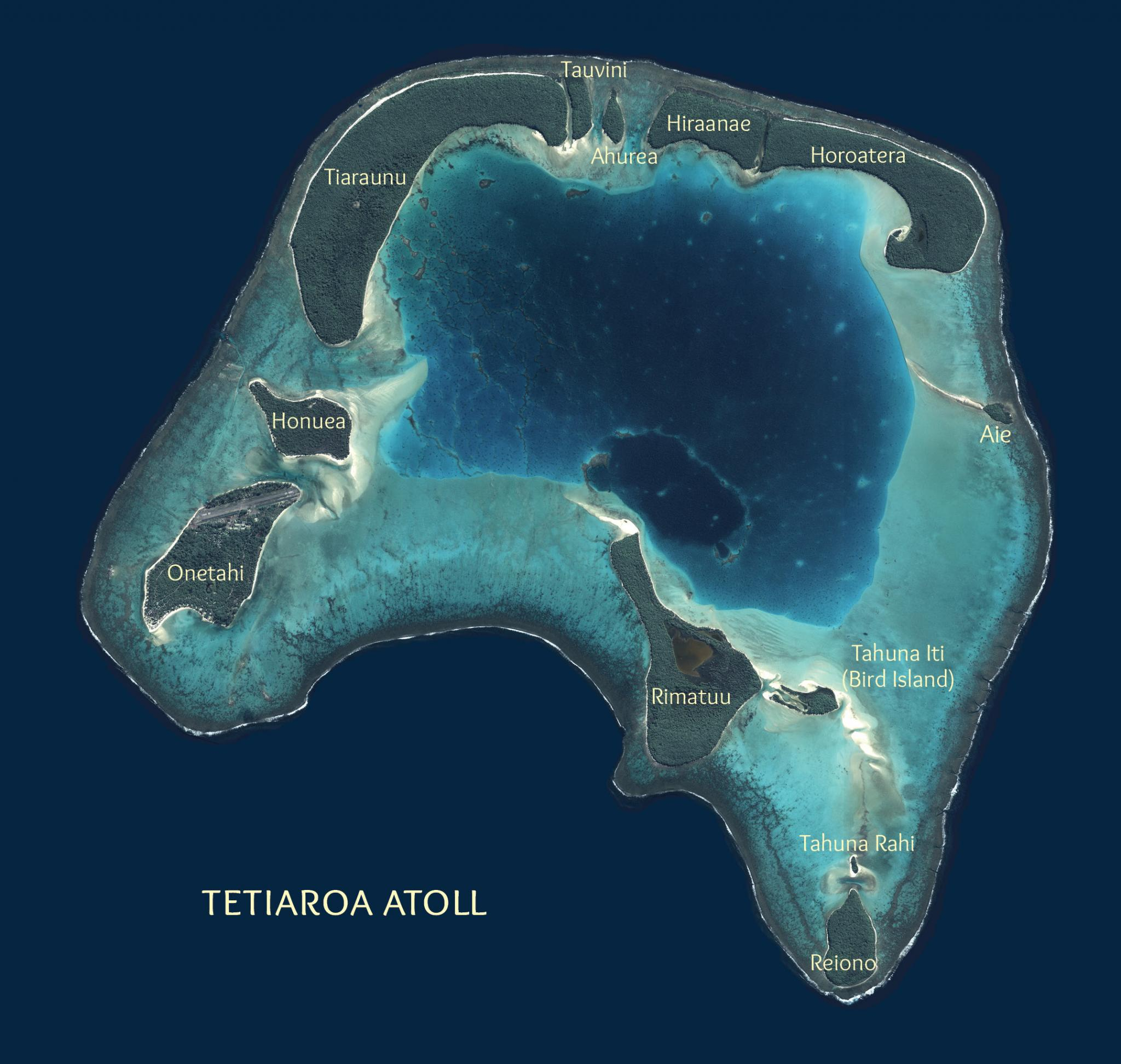 map of the atoll