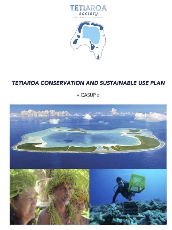 read the pdf: Tetiaroa Conservation and Sustainable Use Plan