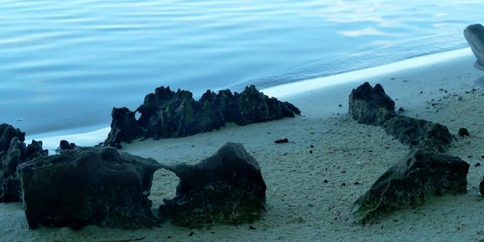 marae on the beach