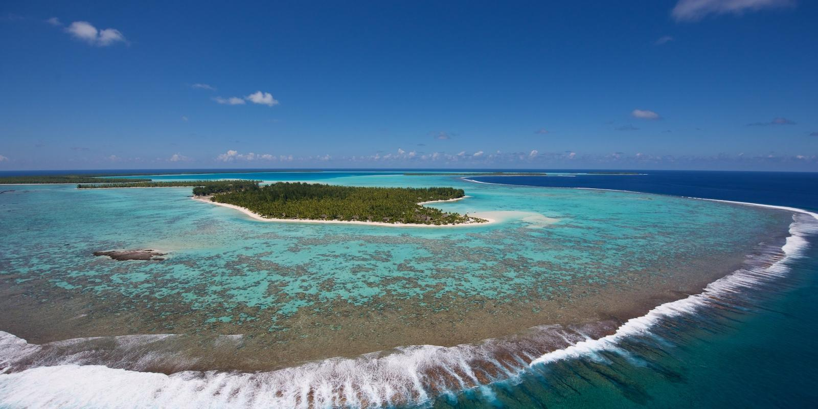Tetiaroa from the air