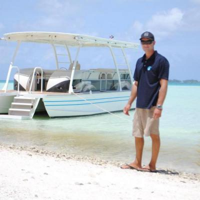 Ready for a tour of the Tetiaroa lagoon?